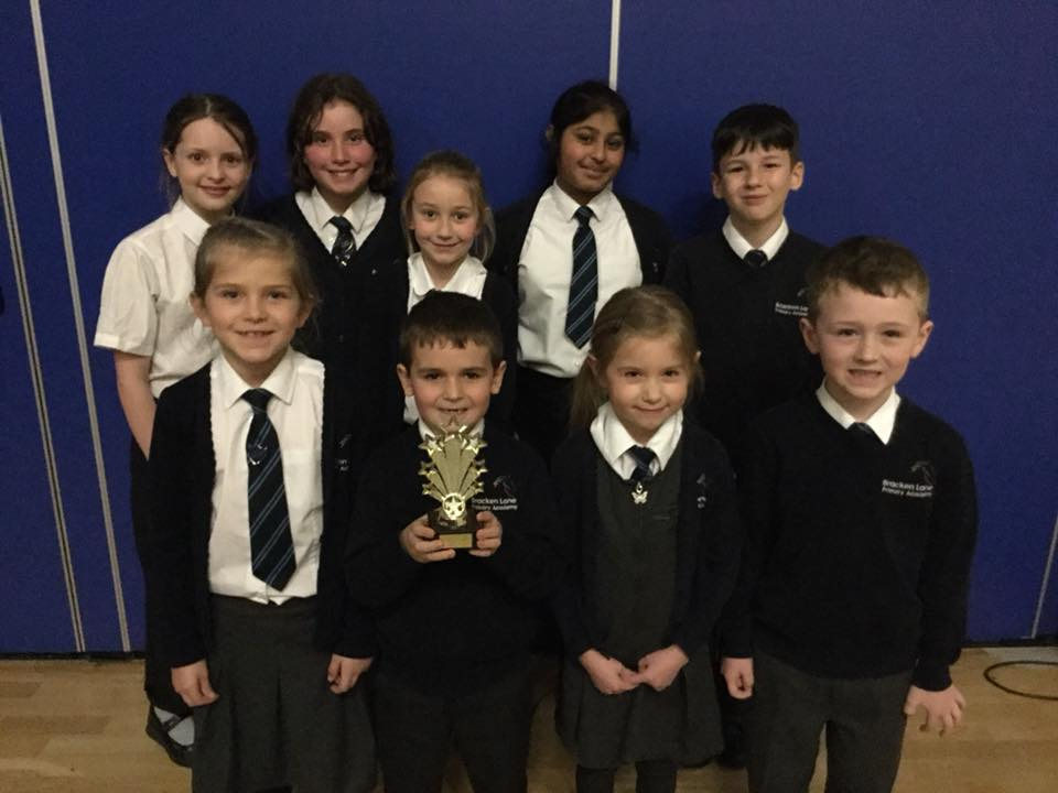 Primary quiz winners for the second year
